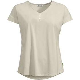 VAUDE Skomer V-Neck T-Shirt Women, biały